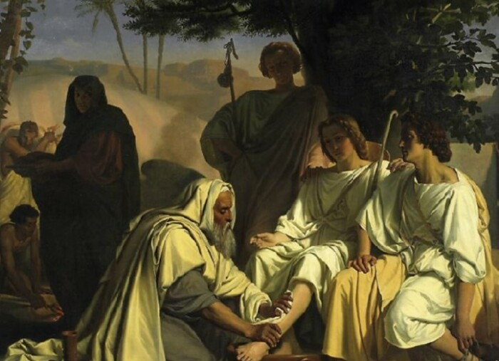 Гостеприимство Лота стало символом его праведности.