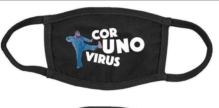 Такая маска от вируса не защитит, но лоску точно придаст.