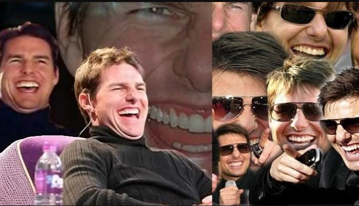 Голливудская улыбка красавчика Тома.