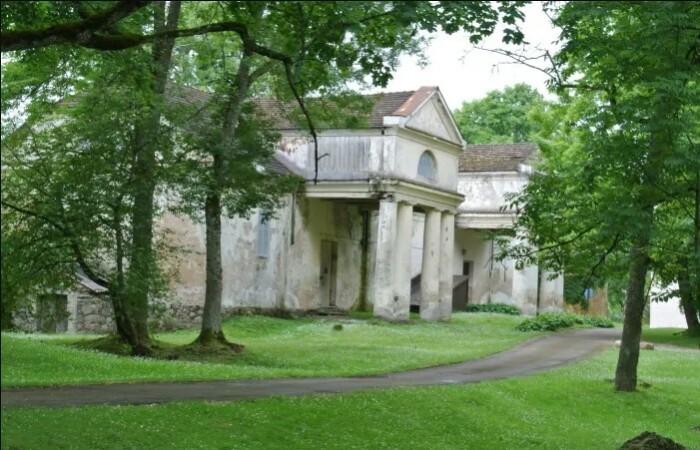 Усадьба в Малнаве, где проходило совещание с Гитлером.