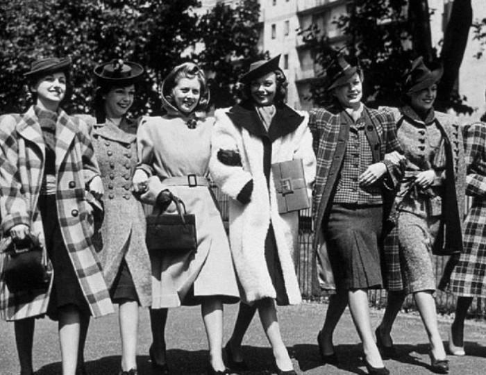 Война позволила советским женщинам узнать о настоящей буржуазной моде.
