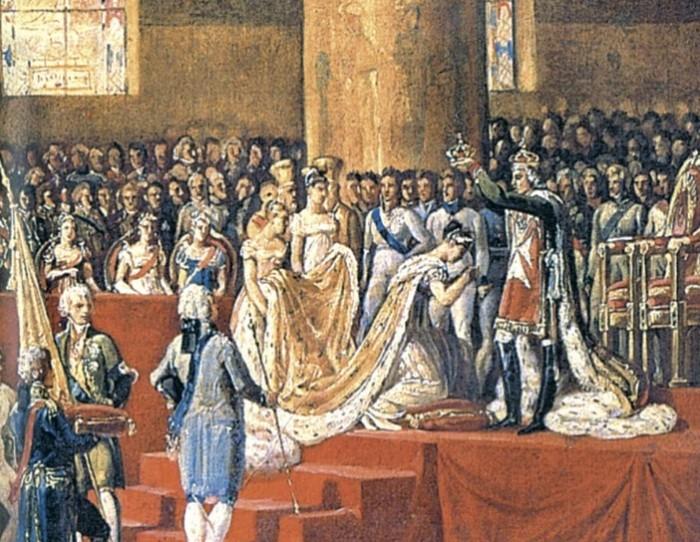 Коронация Елизаветы.