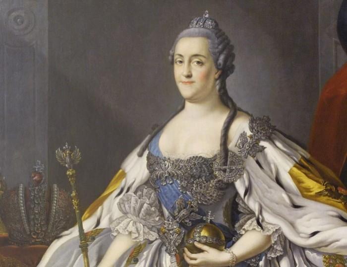 Екатерина Великая славится своими похождениями.