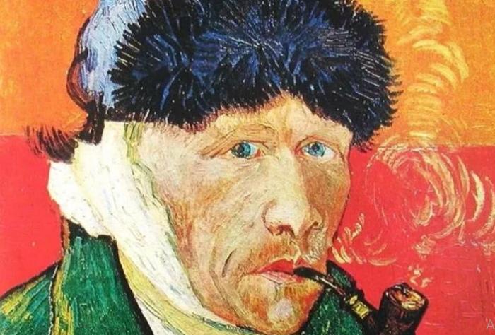 Ван Гог. Автопрортрет.