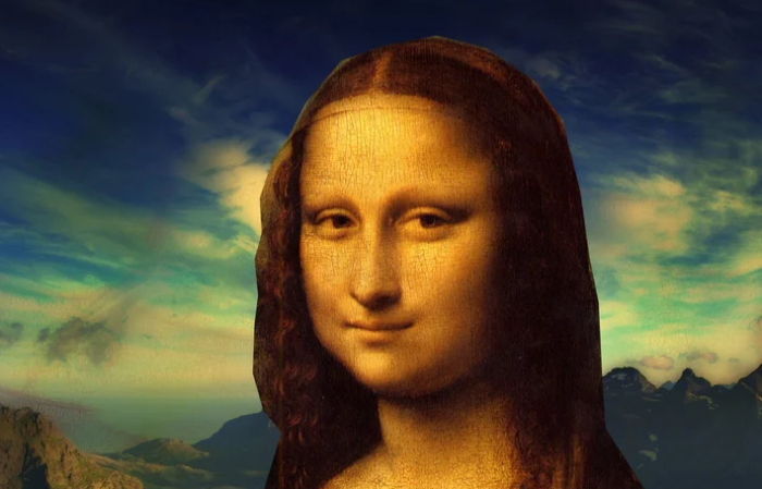 "Леонардо да Винчи. ""Мона Лиза""."