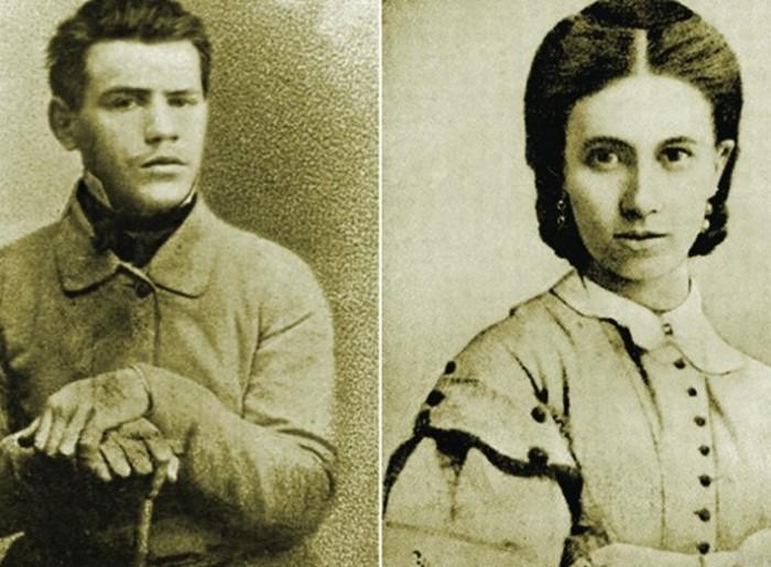 На момент женитьбы Толстой был в два раза страше 18-летней Софьи.
