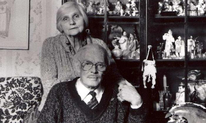 Павел Кадочников и Розалия Котович. / Фото: www.yandex.net