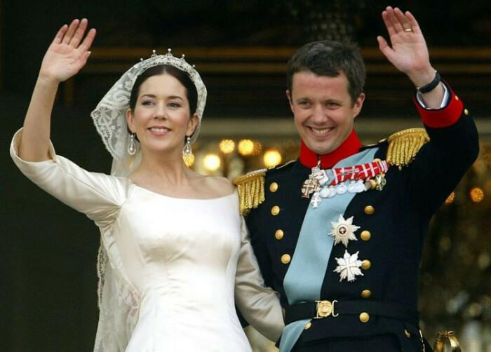 Её Королевское Высочество кронпринцесса Мэри Датская и Его Королевское Высочество кронпринц Фредерик