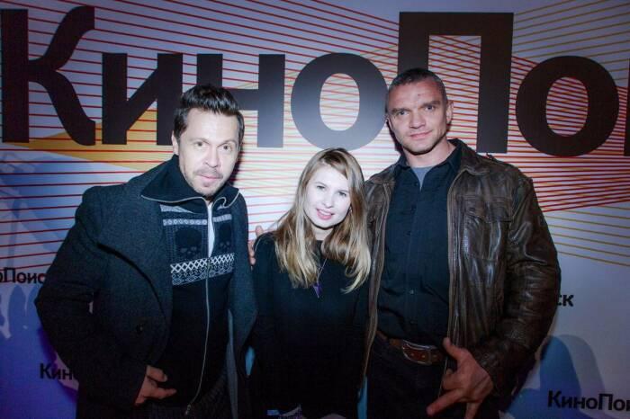 Анна Цуканова-Котт с Владимиром Епифанцевым и Павлом Деревянко