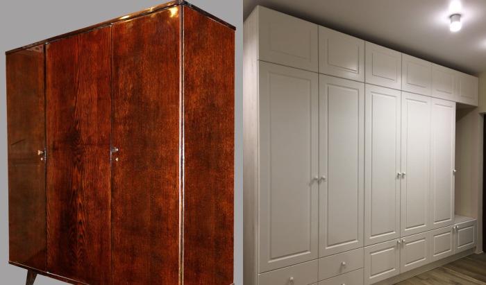 Сейчас много видов шкафов, которые не только заменят несколько шифоньеров, но и улучшат вид комнаты