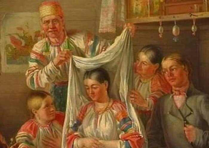 Подготовка невесты к сватовству и смотринам