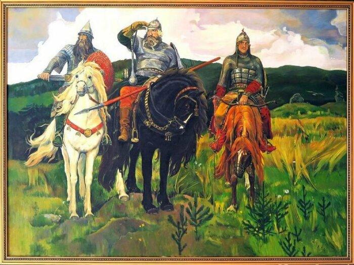 Картина Виктора Васнецова «Три Богатыря»