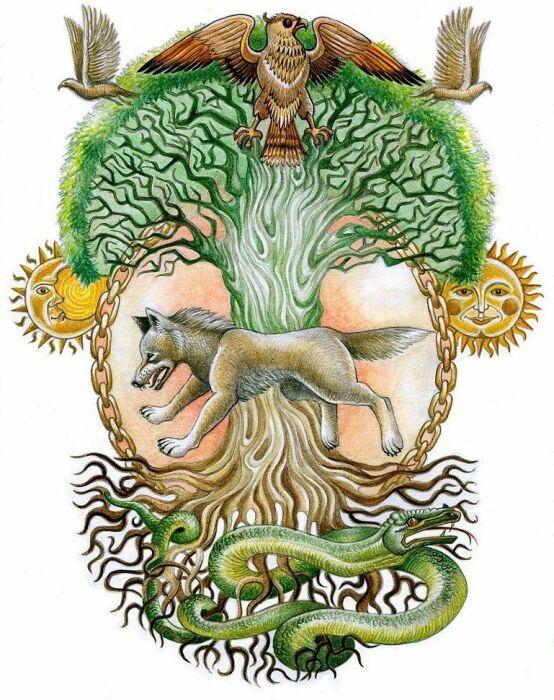 Мировое древо славян