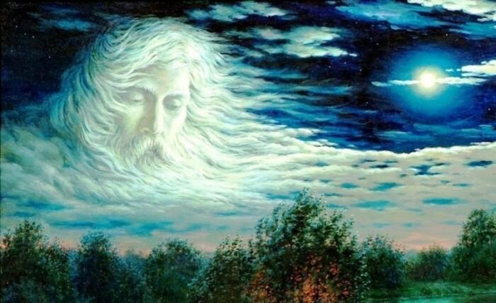 Ветер у славян был наделен внешностью старика с большой головой и огромным ртом