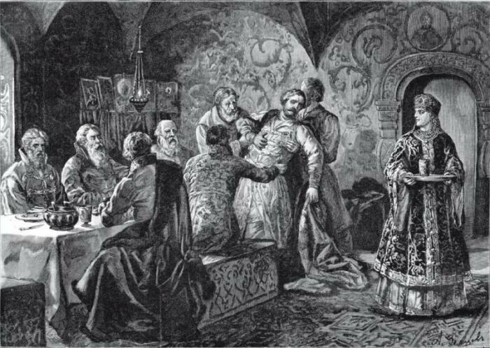 Отравление ядом во время пира было не редкостью, поэтому искали способы борьбы с такой жесткой расправой