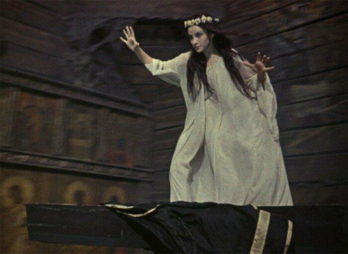 Благодаря своему цирковому прошлому, на роль панночки утвердили Наталью Варлей вместо Александры Завьяловой