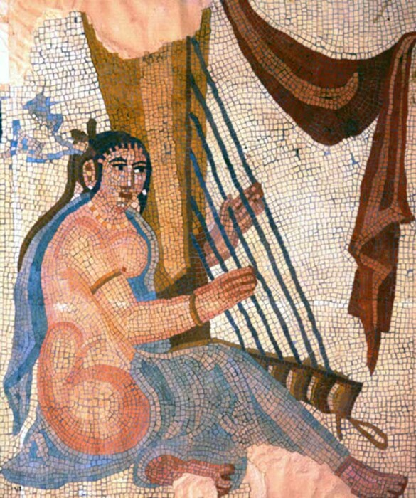 Мозаика с изображением Барсины