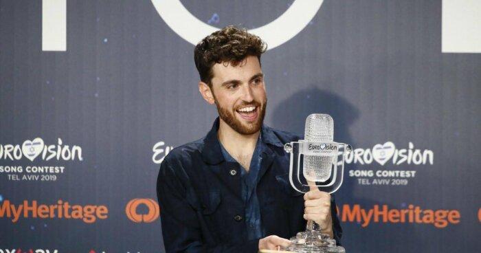 Победитель «Евровидения» в 2019 году Дункан Лоуренс