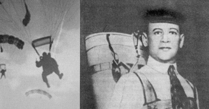 Глеб Котельников - создатель авиационного ранцевого парашюта