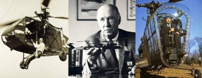 Игорь Сикорский не только любил создавать авиатехнику, но и управлять ей