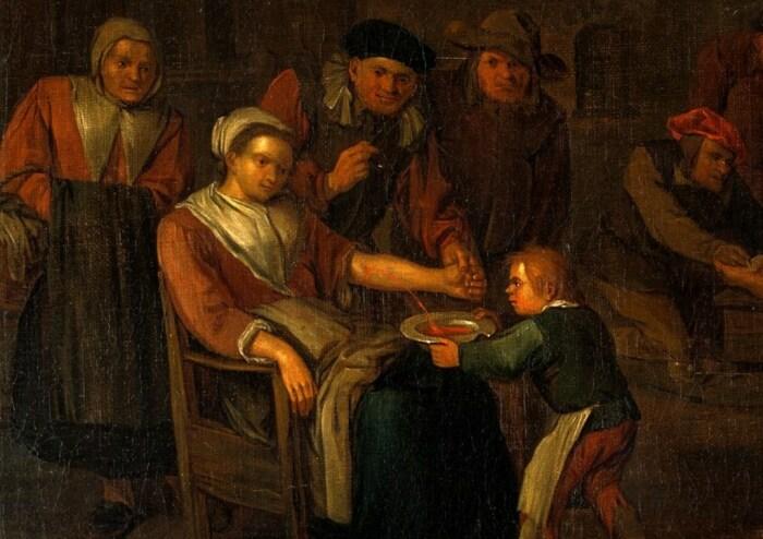 В старые времена кровопускание было панацеей от многих болезней