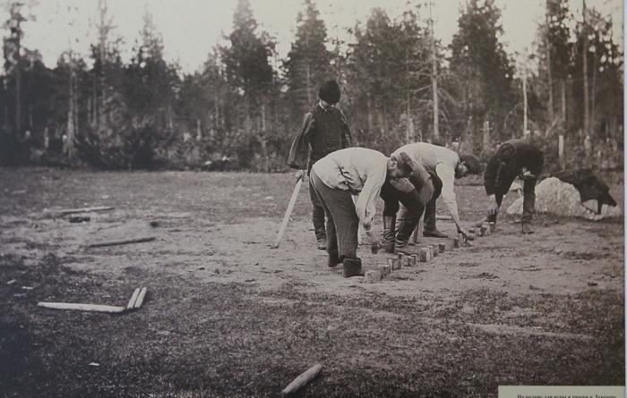 Игра «Городки» нравилась людям как в старые времена, так и в наши дни