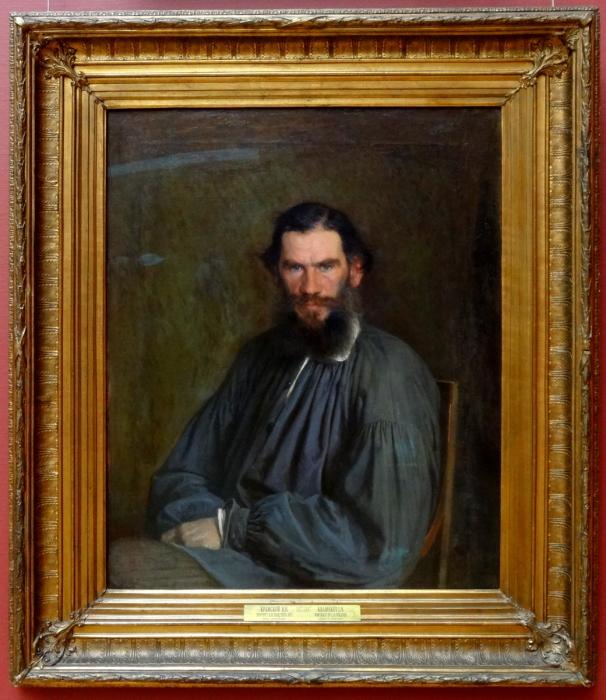 Портрет Льва Николаевича Толстого, Иван Крамской
