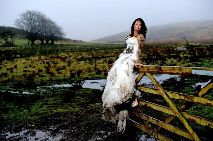 У шотландцев достаточно необычный ритуал очищения невесты от демонов