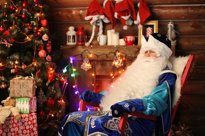 Современный Дед Мороз