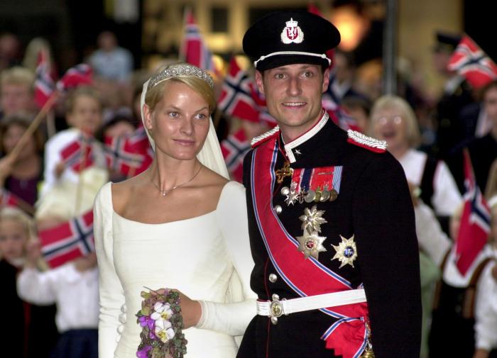 Кронпринцесса Норвегии Метте-Марит Тьессем Хейби и кронпринц Норвегии Хокон