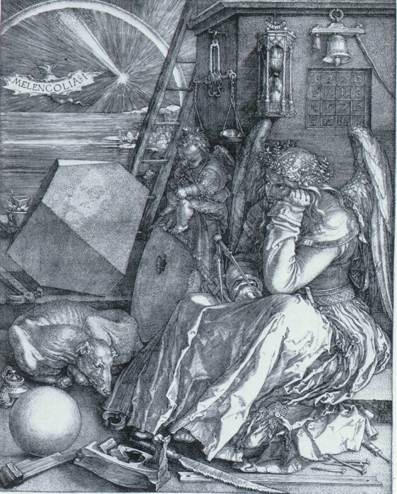 «Меланхолия» - самая загадочная гравюра Альбрехта Дюрера