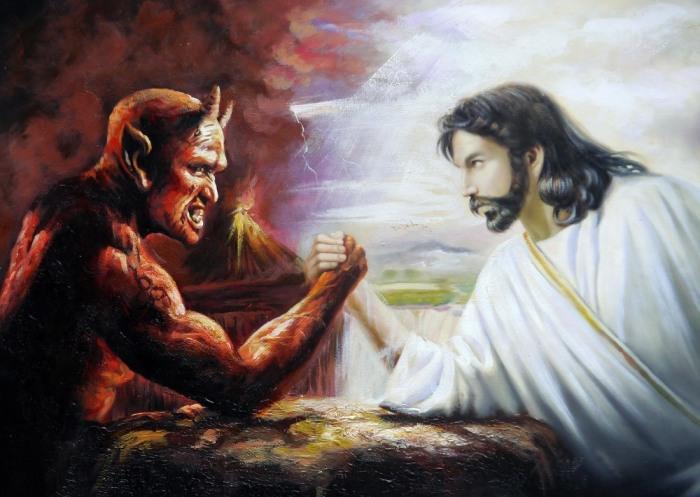 Исходя из легенд, черт помогал Богу создавать наш мир, но соперничество и вражда часто брали верх над демоном