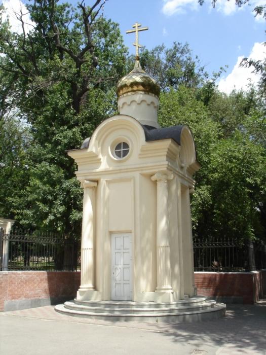 Часовня в честь святой Татианы в Новочеркасске