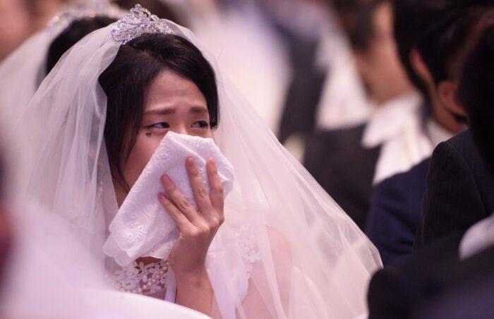 Чем больше плачет невеста перед свадьбой, тем счастливее будет семейная жизнь