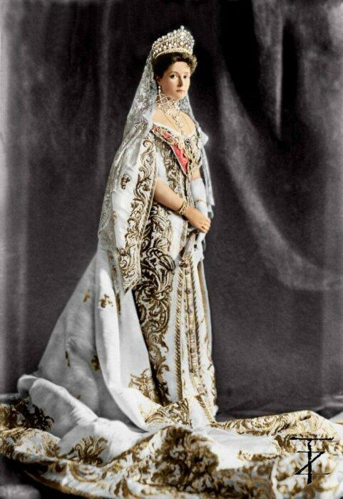 Свадебный образ Александры Федоровны