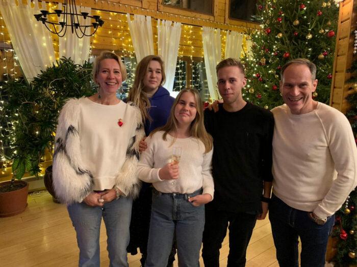 Счастливая многодетная семья Татьяны Лазаревой и Михаила Шаца