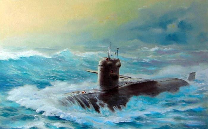 Советская субмарина на боевом дежурстве / Фото: inf.news