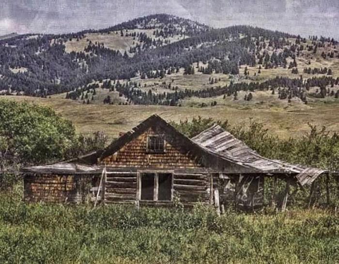 Хижина Берди Браун, штат Монтана / Источник: findagrave.com