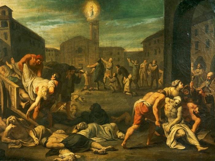 В Средневековье чума свирепствовала по всей Европе. / Фото: nationalgeographic.com