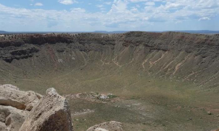 Один из ударных кратеров эпохи олигоцена / Фото: theconversation.com