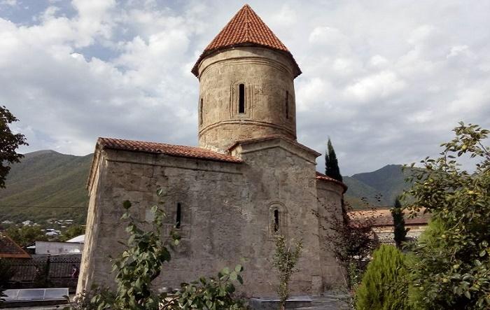 Церковь удинов в Азербайджане / Фото: azerfocus.com
