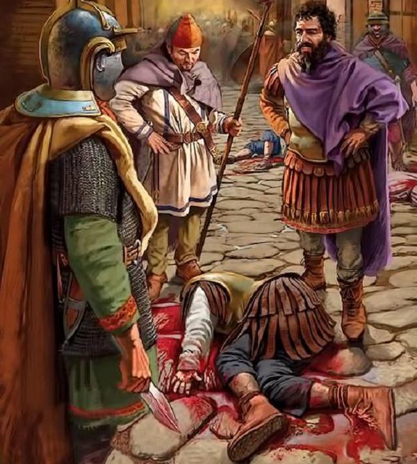 Римские фрументарии часто превышали свои полномочия / Фото: novoscriptorium.com