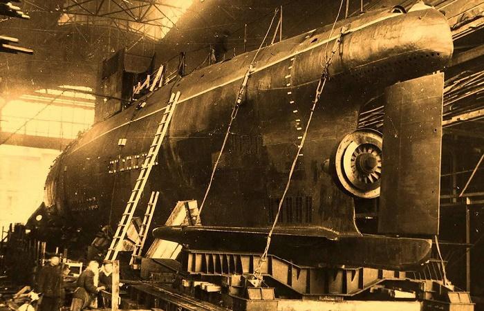 Подводная лодка проекта 617 с паротурбинным двигателем / Фото: military.com