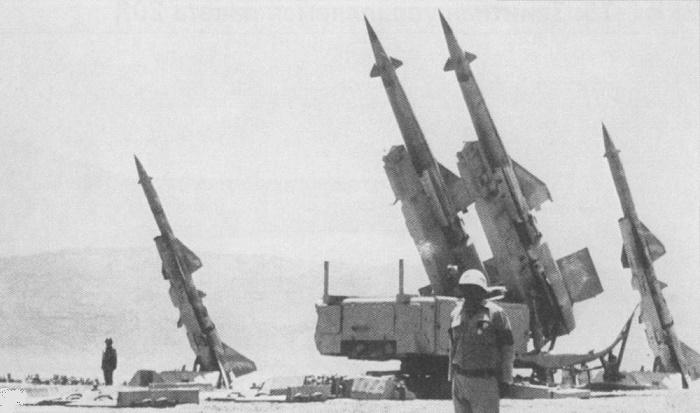Советские ракеты на боевом дежурстве в Египте, 1971 год / Источник: topwar.ru