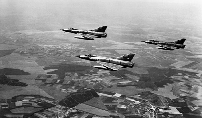 Израильские истребители Dassault Mirage III, июнь 1967 года / Фото: change.org