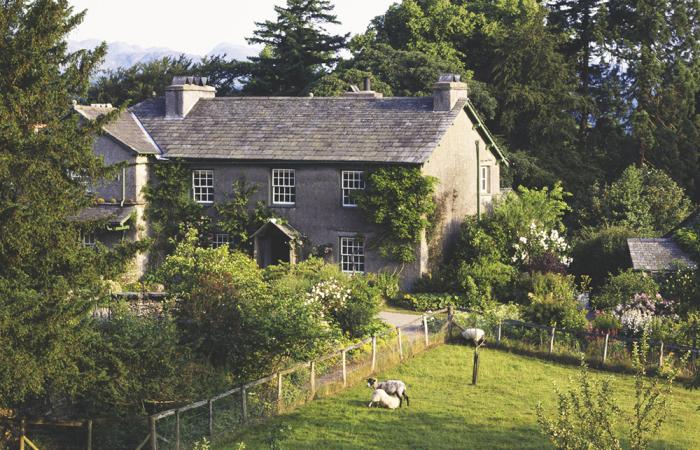 Дом Беатрикс Поттер. / Фото: graythwaite.com