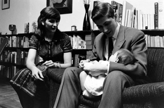 Бобби Фишер с сестрой и новорожденной племянницей / Фото: linuxinterflorence.blogspot.com