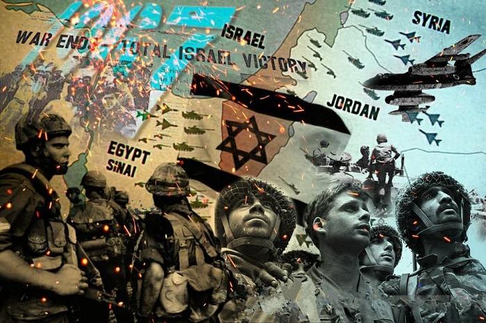 Шестидневная война. Западный пропагандистский плакат / Фото: pinterest.com