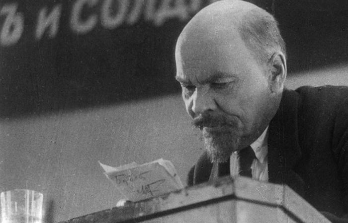 Первый «киношный» Ленин / Фото: sputnikimages.com