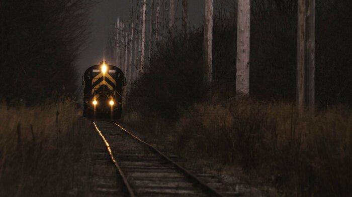 В 1992 году в Видимском урочище исчез железнодорожный состав / Фото: krot.mobi
